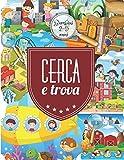 Cerca e Trova: Libri giganti interattivi per bambini 2-5 anni.