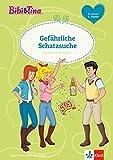 Bibi & Tina: Gefährliche Schatzsuche: Erstleser 2.  Klasse ab 7 Jahren (A5 Lese-Heft) (Lesen lernen mit Bibi und Tina)