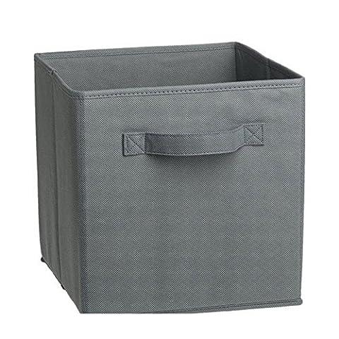 Poubelles Panier tissu pliable Cube de rangement Organisateur Boîtes tiroirs,