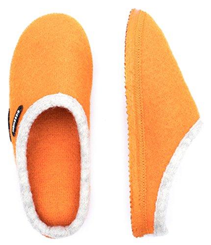 Giesswein Dannheim, Unisex - Pantofole Per Adulti Mandarino