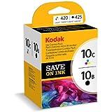 Kodak 10B / 10C Kit complet de cartouches d'encre Noir et couleur