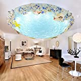 NAUY- Shell Mittelmeer Deckenleuchten Esszimmer Schlafzimmer Balkon Flur Kinderzimmer Kreative LED-Lampen ( größe : 40 cm )