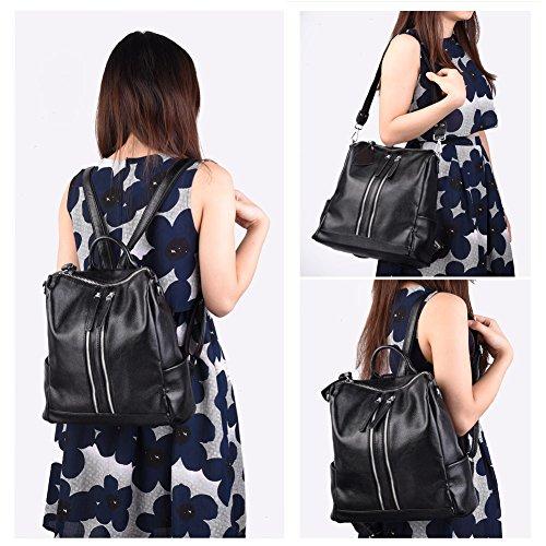 Imagen de vbiger  mujer negra y bolsos de mujer in cuero negra  alternativa