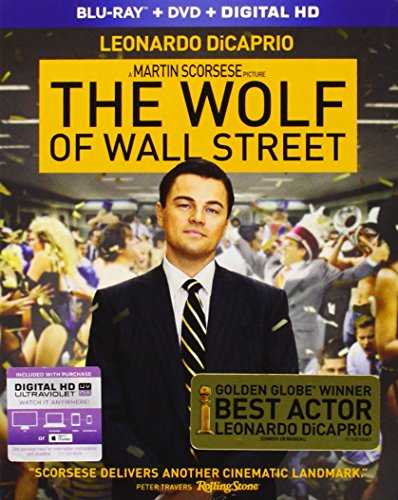Wolf of Wall Street [Blu-ray] [Import anglais]