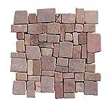 1 Fliese M-018 Marmormosaik Mosaikfliesen Bad-Fliesen Mosaikfliesen Naturstein Lager Verkauf Stein-Mosaik Herne NRW