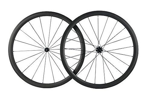 Superteam Carbon Rims 700c clincher Bike Wheelset 38mm Clincher Road wheels