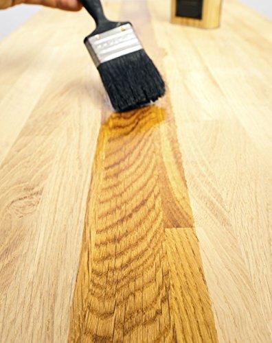 BE-201 Möbelöl farblos 100% Naturöl Innen und Aussen Arbeitsplattenöl | BEKATEQ Holzmöbel Öl...