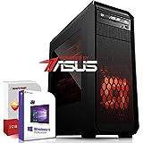 Multimedia PC AMD A10-7890K 4x4.1GHz|ASUS Board|8GB DDR3|500GB HDD|Radeon HD R7 Series 4GB HyperMemory HDMI|DVD-RW|USB 3.0|SATA3|Sound|Windows 10 Pro|Made in Germany|3 Jahre Garantie