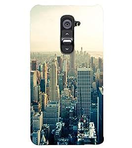 PRINTSWAG CITY Designer Back Cover Case for LG G2