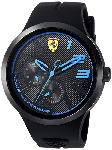 Scuderia Ferrari Men's 'FXX' Quartz Resin and Silicone Casual Watch 0830395