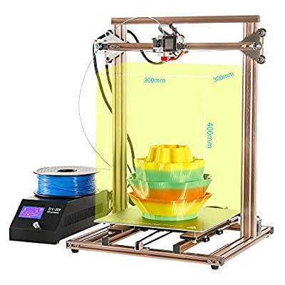 CR-10S 3D Printer Kit 3 Parts DIY Assembly Large Print Area High Resolution