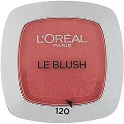 L'Oréal Paris Rouge Perfect Match Le Blush, 120 Sandalwood Pink / Dezent-matter Blush für einen frischen Alltags-Teint für alle Hauttypen / 1 x 5 g