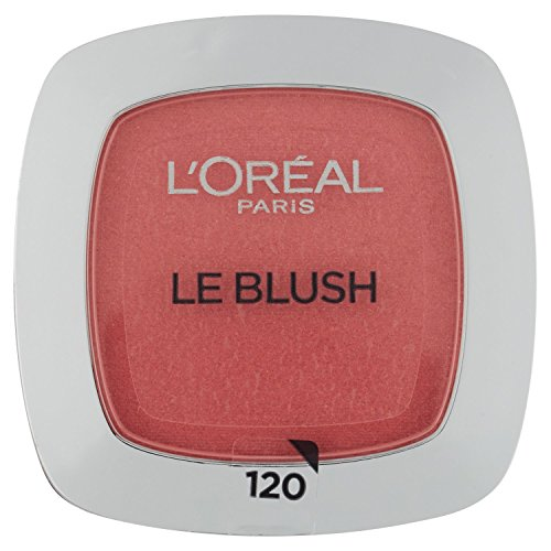 L'Oréal Paris Rouge Perfect Match Le Blush, 120 Sandalwood Pink / Dezent-matter Blush für einen frischen Alltags-Teint für alle Hauttypen / 1 x 5 g - Make-up Perfect Rouge