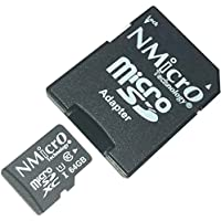 NMicro 64Go microSDXC UHS-1 Classe 10 Carte Mémoire Micro SD 64GB 64G 64 GB Go pour for UHS UHS-I SDXC SN1112 Huawei P10 avec Adaptateur TF Compatible Compatibilité Support Compatibility