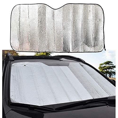 Mirage Auto-Windschutzscheibe Abdeckung, Universal Car Windschutzscheibe Windschutzscheibe Sonnenschutz Hitzereflektierende Windschutzscheibe Visier (1PCS), 130 * 60 (Color : 140 * 70)
