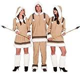 Inuit Damen Kostüm als Eskimo zu Karneval Fasching Gr.48/50