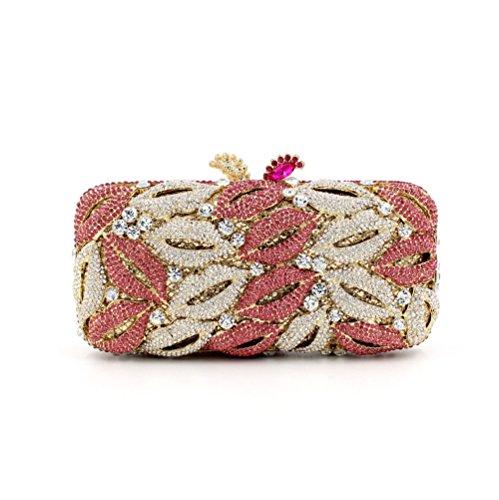 Dinner-Paket Europa und den Vereinigten Staaten Stil aristokratischen Tasche Handtasche Lippen Diamantbohrer 4 Farb color 2