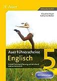 Auer Führerscheine Englisch Klasse 5: Schnell-Tests zur Erfassung von Lernstand und Lernfortschritt