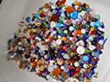 ASSORTED GLASS BEAD MIX Jewellery Czech Crystal Pressed European Faceted Art Craft Mosaic