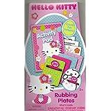 Hello Kitty Activity Pad and Rubbing Plates
