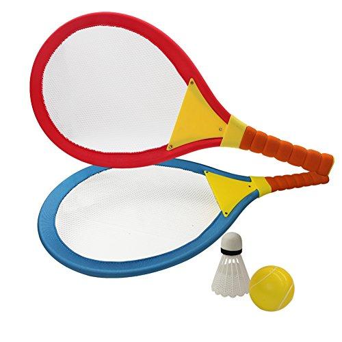 Raquetas Badminton Niños Raquetero Tenis Racket Raqueta de Juguete Deportivo Bádminton Playa al Aire Libre