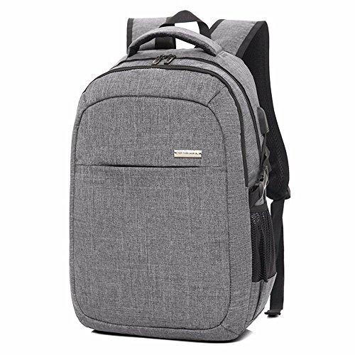Business Anti - Diebstahl - Laptop Rucksack Mit Usb - Port Rucksack Berechnen, Computer - Tasche, Koreanischen Version Des Trend - Student,Navy Blue