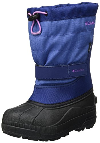 Columbia Mädchen Youth Powderbug Plus Ii Schneestiefel, Violett (Eve/Northern Lights), 32 EU