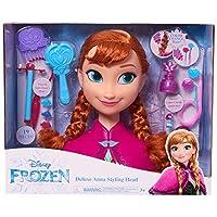 JP Disney Styling JPL32570 Frozen-Deluxe Anna Styling Head, No Colour
