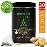 Tè verde allo zenzero Nongiri Teamonk, 30 bustine di tè