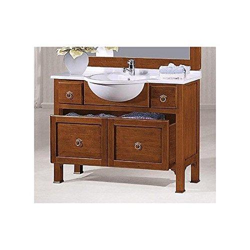 Estea mobili - mobile bagno arredo legno massello arte povera classico - 121090052859 - come foto