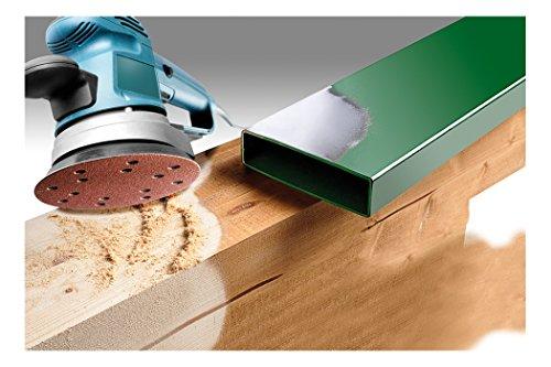 KWB Quick-Stick Schleifscheiben, Holz und Metall, selbsthaftend, Durchmesser 150 mm, gelocht, 4920-70