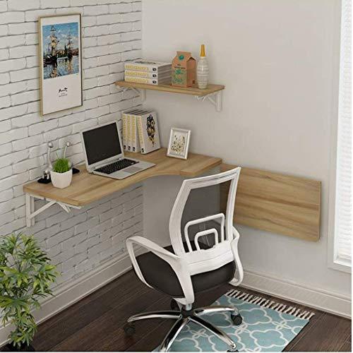 Möbel L-förmige Computer (QiXian Ecke passt Sich an jeden Raum an Computer Tisch Wand Tisch Faltbare Tisch L-förmige Tisch Wand Laptop Schreibtisch Wand hängen Tisch Lernen Tisch Größe Optional,100 * 70 * 40 cm)