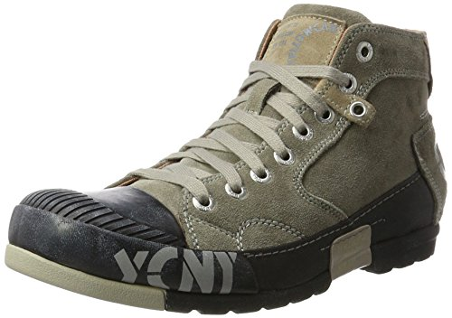 Yellow Cab Herren Mud M Hohe Sneaker, Grau (Dark Grey), 43 EU
