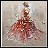 Mumuj-diamant Bild 5D Diamant Rhinestone Kleben Stickerei Kreuzstich Malerei Kreuzstich für Wohnzimmer, Schlafzimmer, Arbeitszimmer usw. Haus Dekor Stickvorlage Kreuzstich Stickbild 30 x 30 cm
