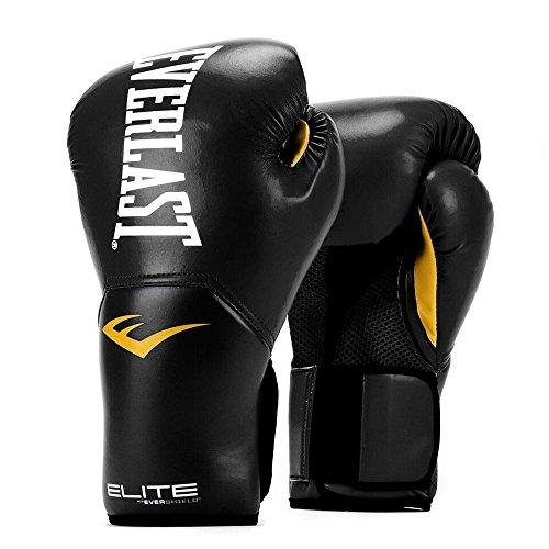 Everlast, Pro Style Elite Training Glove: 2500 Series, Farbe: Black, Größe: 12 (Pro-mesh-boxer)