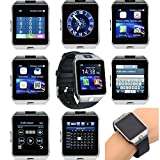 Samsung Google Nexus S 4G GT350 COMPATIBLE Bluetooth Smart Watch Phone With Camera and Sim Card Support With Apps like Facebook and WhatsApp Touch Screen Multilanguage Android/IOS Mobile Phone Wrist Watch Phone with activity trackers and fitness band features by JOKIN
