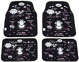 Sheepworld SWINN800 4-teilig Auto-Fußmatten Set,Ohne Dich ist alles Doof.