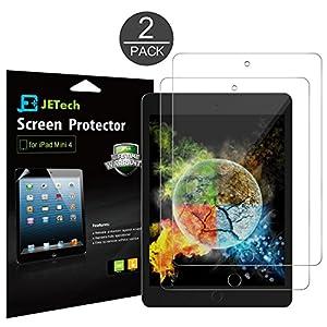 JETech Pellicole Protettive per iPad Mini 4, HD Trasparente, 2 Pezzi