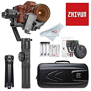 Zhiyun Crane 2 (Ultima Ver), 3-axis gimbal stabilizer with grip, focus tracking function for DSLR and Mirrorless, up to 3.2KG, e.g. : Canon 5D2, 5D3, 5D4, GH3, GH4, Nikon D (B075K8469M) | Amazon price tracker / tracking, Amazon price history charts, Amazon price watches, Amazon price drop alerts