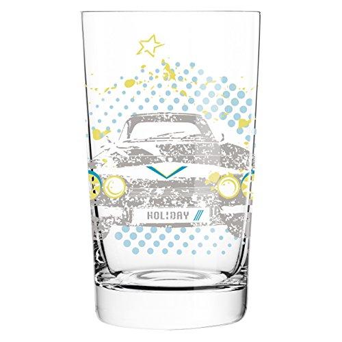 Ritzenhoff 3270002 Everyday Darling Design Softdrink-/Wasser-/Trink Glas, Carolin Körner, Frühjahr - Trink Wasser Gläser