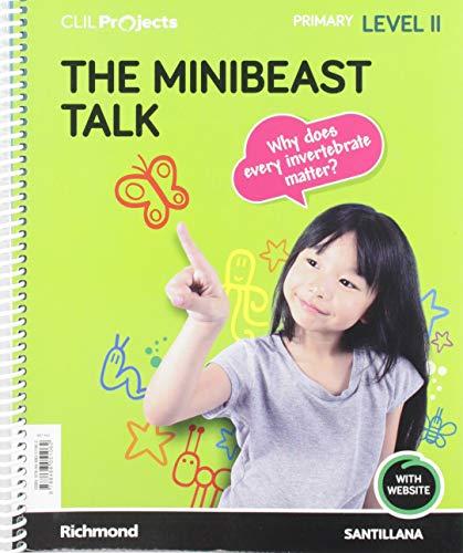 CLIL PROJECTS LEVEL II THE MINIBEAST TALK
