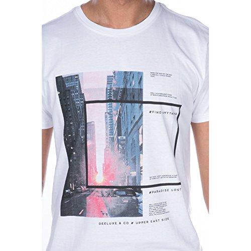 Deeluxe Herren T-Shirt weiß weiß Weiß