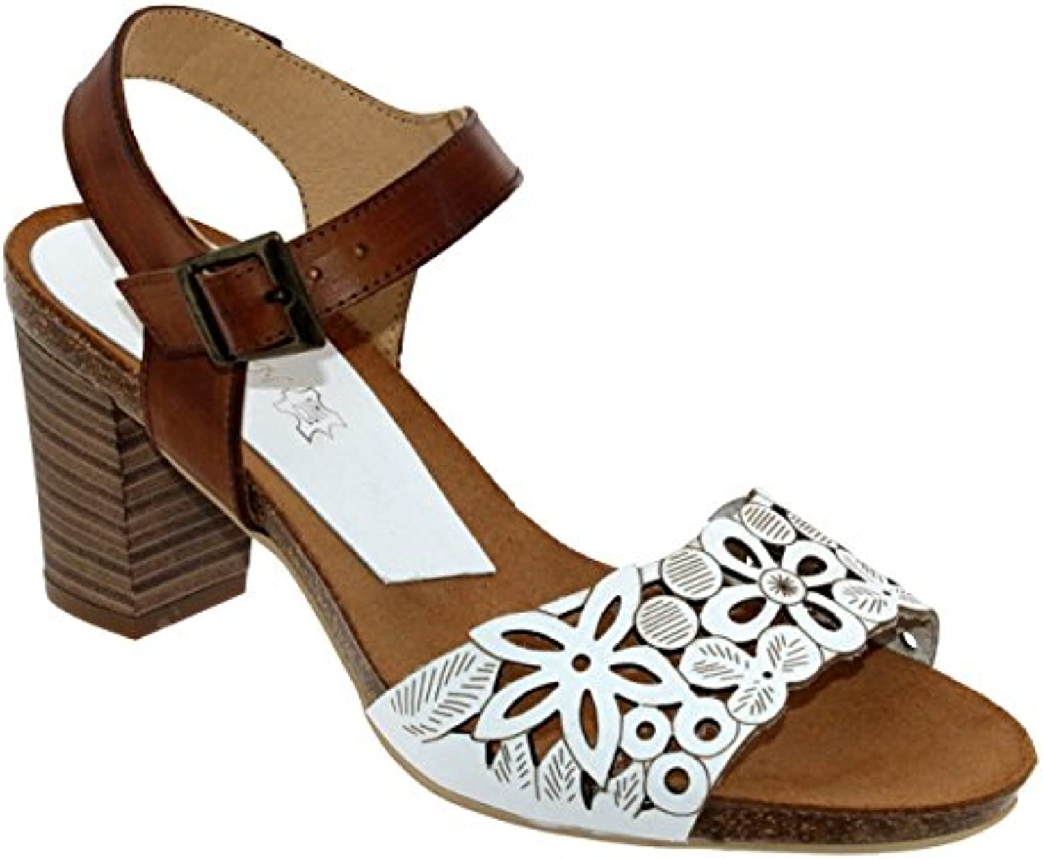 Xapatan Femme 8099, Femme Xapatan Nu-Pied Marron Lisse eac997 ... 9389551bef53