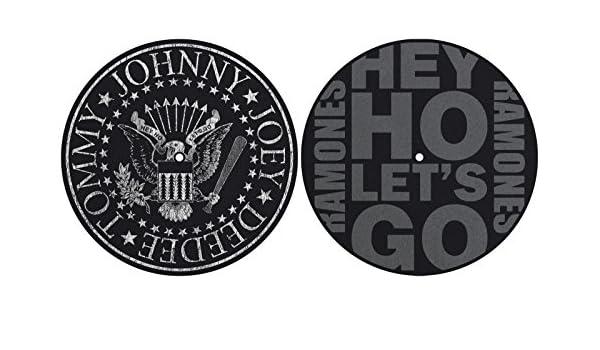 Ramones Hey Ho Lets Go Seal Turntable Slipmat Set