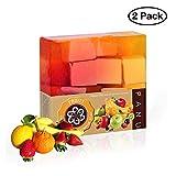 Panu Naturkosmetik - Mixed Fruit Seife für die Körperpflege und Gesichtspflege - Naturseife -...