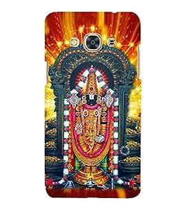Lord Balaji 3D Hard Polycarbonate Designer Back Case Cover for Samsung Galaxy J3 Pro