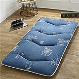RYQS Portable Verdicken Sie Nicht-Slip Futon-matratze, Folding Tatami Boden Matratze Für Home Schlafsaal Outdoor Schlafzimmer-d 80x190cm(31x75inch)