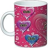 Your Name'' Coffee Mug |Name Coffee Mug 'CHITTI' Coffee Mugs Friend |Gift Coffee Mug