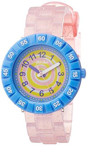 Flik Flak Swirly Candy Mädchen-Armbanduhr FCSP045 (Mädchen Swirly)