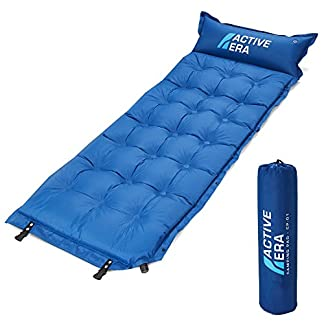 Active Era Self-Inflating Camping Pad with Pillow and Air Pockets | Lightweight and Comfortable Foam Sleeping Pad 4
